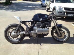 bmw k100 the k100 project don t call it a cafè racer bmw k100 project 90